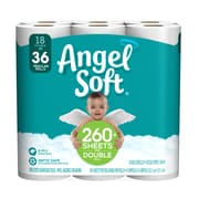Angel Soft 2-Ply Toilet Paper, 18 Rolls/Pack (775975)