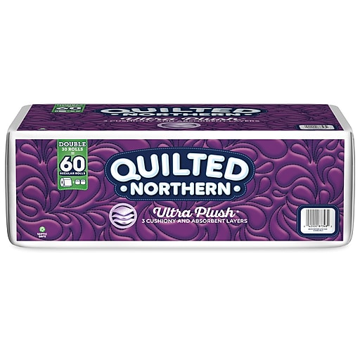 Quilted Northern Ultra Plush Three Ply Bathroom Tissue 30 Rolls