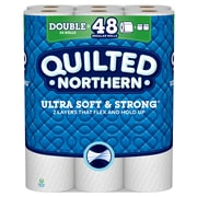 Quilted Northern Ultra Soft & Strong 2-Ply Toilet Paper, 24 Rolls/Pack (942835)