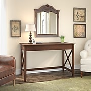 Bush Furniture Key West 48W Writing Desk, Bing Cherry (KWD148BC-03)