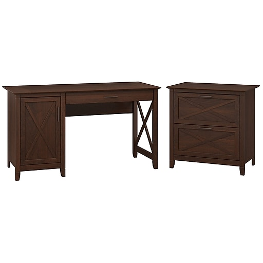 Computer Desk With Storage And 2 Drawer Lateral File Cabinet Https Www Staples 3p S7 Is