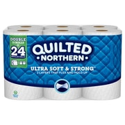 Quilted Northern Ultra Soft & Strong 2-Ply Toilet Paper, 12 Rolls/Pack (96702)