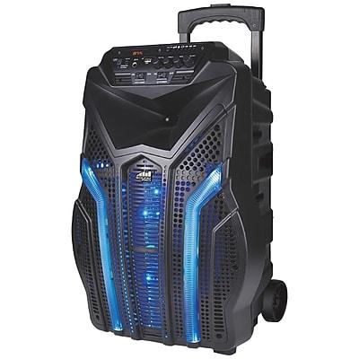 Naxa 3,000-Watt Portable Karaoke Speaker with Bluetooth(NDS-1211)