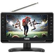 """Naxa 10"""" Portable TV & Digital Multimedia Player with Car Package(NT-110)"""