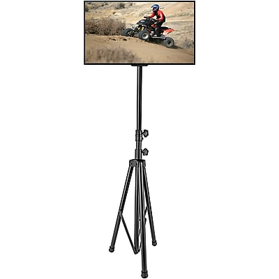 """Pyle Home Portable Tripod TV Stand (Up to 60"""")(PTVSTNDPT3211)"""