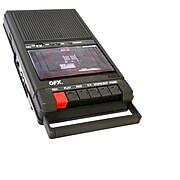 QFX RETRO-39 SHOEBOX TAPE RECORDER  USB PLAYER BRAND NEW 1 YEAR WARRANTY, Refurbished (652012780946)