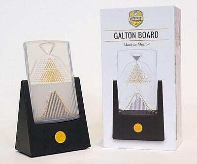 Desktop Galton Board, Rotates on X-Axis, 7.5 x 4.5, Black (43188-151192)