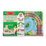 Melissa & Doug Take Along Vehicle Set Wood Train (30140)