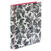 "Avery Durable View Fashion Binder, 1"" Round Rings, 3-Ring, Damask (26747)"