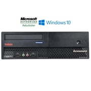 Refurbished Lenovo thinkcentre m57 sff computer Intel e6550 core 2 duo 2.33 4GB RAM 250GB hard drive Windows 10 home