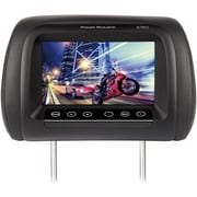 "Power Acoustik 7"" LCD Universal Replacement Headrest Monitor with IR Transmitter & 3 Interchangeable Color Skins(H-78CC)"