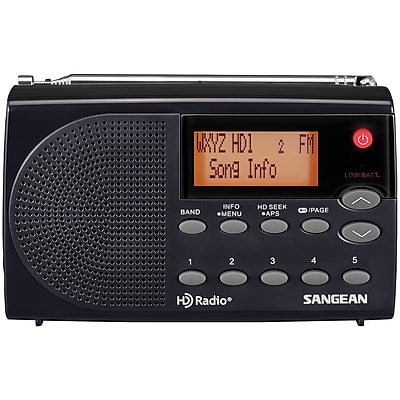 Sangean HD Radio/FM Stereo/AM Portable Radio(HDR-14)