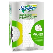 Swiffer Sweeper Heavy Duty Dry Disposable Sweeping Cloths, 32 Count (77198)