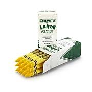 Crayola® Large Crayons, 12 Pack, Yellow (52-0033-034)