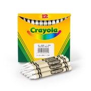 Crayola® Crayons, 12 Pack, White (05-0836-053)