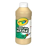 Crayola® Portfolio Series Acrylic Paint 16oz Bronze-Yellow (20-4016-530)