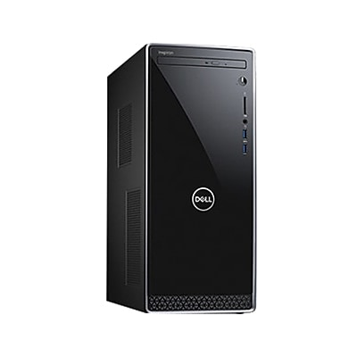 Dell™ Inspiron 3670 Desktop Computer, Intel Core i5-8400, 1TB Hard Drive, 12GB RAM, Windows 10 Pro, Intel UHD graphics 630