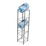 Mind Reader 5 Tier Stainless Steel Heavy Duty Water Cooler Jug Rack, Silver (5TJUG-SIL)