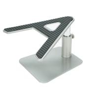 Mind Reader Metal Laptop Riser, A-Shaped Adjustable Desk Top Stand for Laptop, Monitor, iMac, MacBook, Black (LAPRISE-SIL)