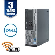 DELL3010, Intel i5-3470 3.2Ghz, 8GB, 250GB, WIFI, Win 10 Pro, Refurbished