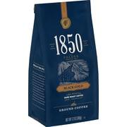 1850 Black Gold Fire-Roasted Dark Roast Ground Coffee, 12 Oz. (SMU60516)