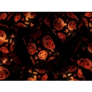 Monoprice 10 Count Pumpkin Halloween Tube Light 11.5 ft (124577)