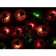 Monoprice 10 Count Spider Halloween String Light 11.5 ft (124569)