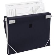 "Samsill® TRIO 1"" 3-Ring 3-in-1 Organizer Binder, Black (10140S)"