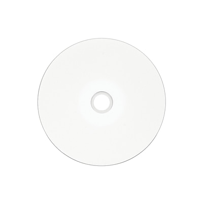 image relating to Printable Cd R named Verbatim 700MB 80MIN 52X White Inkjet/Hub Printable CD-R Spindle, 25/Pack (96189)