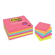 """Post-it Notes, 1.5""""  x 2"""", Cape Town Collection, 24 Pads/Pack (653-24ANVAD)"""