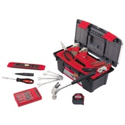 Apollo Tools Household Tool Kit with Tool Box, 53 Piece (DT9773)