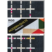 C&T Publishing Set of 3 Journals Modern Quilts Notebook (20398)