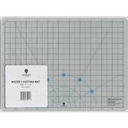 "Daylight 9""L x 12""W Daylight Wafer 1 Transparent Cutting Mat (U35041)"