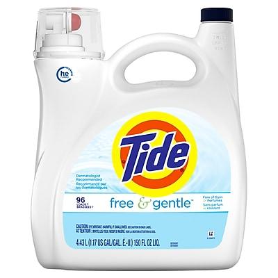 Tide®Liquid Free & Gentle Laundry Detergent, 150 fl. oz
