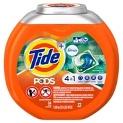 Tide PODS Laundry Detergent Pacs with Febreze, Botanical Rain, 54 Count