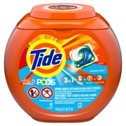 Tide PODS Liquid Detergent Pacs, Ocean Mist, 42 count