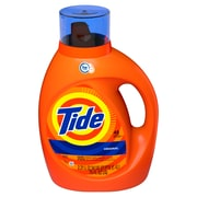 Tide HE Turbo Clean Liquid Laundry Detergent, Original, 48 Loads, 75 fl oz (22405)