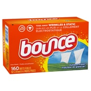 Bounce® Fabric Softener Sheets, Outdoor Fresh Scent, 160 Dryer Sheets/Box (PAG 80168)
