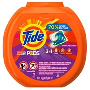 Tide Pods Spring Meadow Liquid Detergent Pacs 72 Pack Pgc 50978