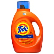 Tide®  Original Scent HE Turbo Clean Liquid Laundry Detergent, 100 oz, 64 loads
