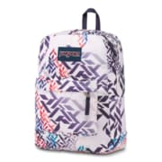 "JanSport Superbreak Backpack, 16.7"" x 13"" x 8.5"", Botanical Geo (JS0071A49L)"