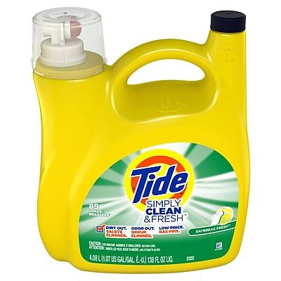 Tide Simply Clean and Fresh Daybreak Fresh Liquid Laundry Detergent 89 Loads, 138 Fl Oz