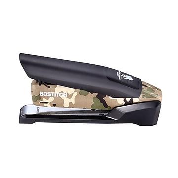 Bostitch Wounded Warrior EZ Squeeze Desktop Stapler, 28-Sheet Capacity, Black/Camouflage (INP28-WW)