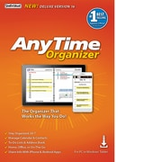 Individual Software AnyTime Organizer Deluxe 16 for 1 User, Windows, Download, (ESD-A16)