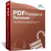 Wondershare PDF Password Remover for 1 User, Windows, Download (10160302win)
