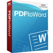 Wondershare PDF to Word for 1 User, Mac, Download (10201603Mac)