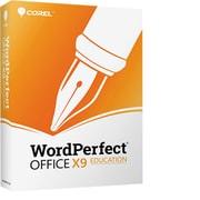WordPerfect Office X9 Pro Education for 1 User, Windows, Download (ESDWPX9PREFA)