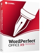 WordPerfect Office X9 Pro Upgrade for 1 User, Windows, Download (ESDWPX9PREFUG)