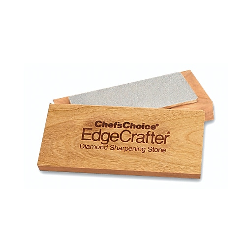 "Chef's Choice Edgecrafter Diamond Sharpening Stone, 2"" x 4"""