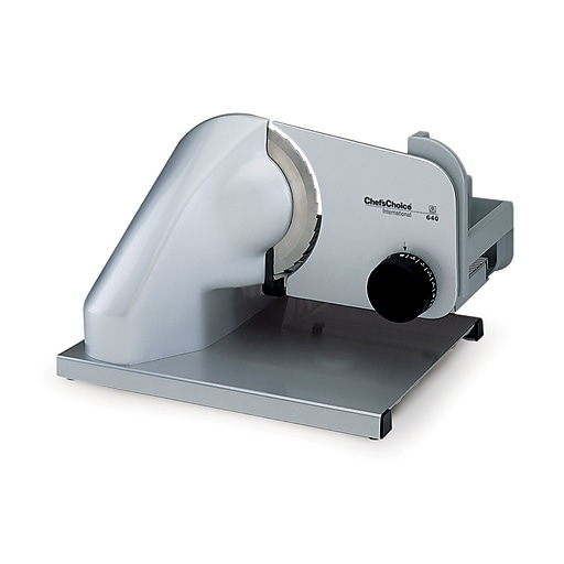 """Chef's Choice #640 International Professional Electric Food Slicer, 7"""" blade"""